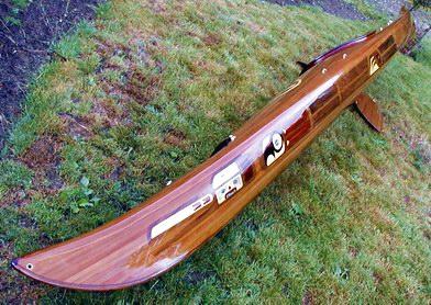 Artistic Cedar Strip Kayak Builder Lightweight High