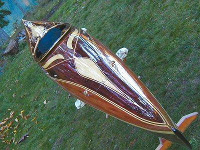 Artistic Cedar Strip Kayak Builder Lightweight High Performance